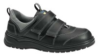 Abeba 1024 safety shoes with Velcro straps black