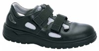 Abeba 1036 leather safety shoes with Velcro straps