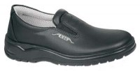 Abeba 1037 leather safety shoes black