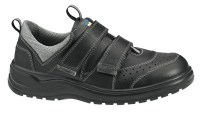 Abeba 1121 leather occupational shoes with Velcro straps