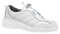 Abeba 1151 leather occupational shoes white