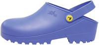 April clog Blauw open hiel7