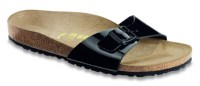 Birkenstock Madrid slippers Black patent