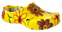 Super Birki clogs yellow flower
